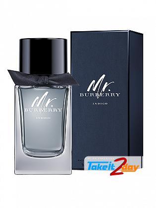 Burberry Mr. Burberry Indigo Perfume For Men 75 ML EDT