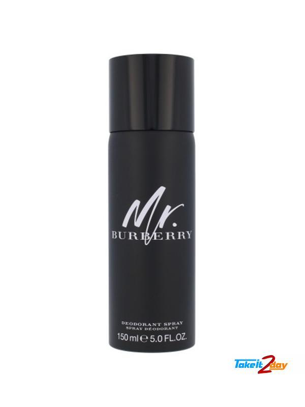 mr burberry deodorant spray