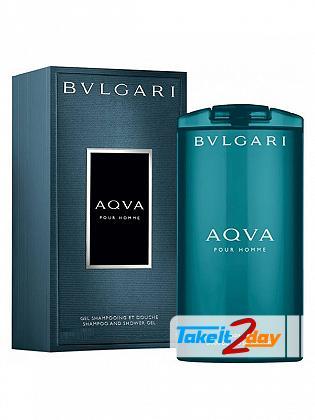 Bvlgari Aqua Shampoo Shower Gel For Men 200 ML