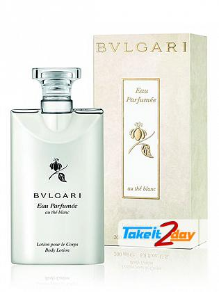 Bvlgari Eau Parfumee Au The Blanc Body Lotion For Women 200 ML