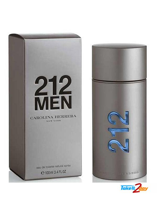 Carolina Herrera 212 Men Perfume For Men 100 ML EDT. Click Image for Gallery 3b047b1277