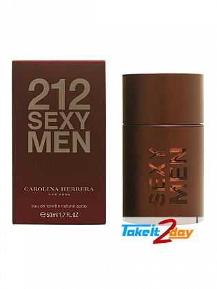 Carolina Herrera 212 Sexy Men Perfume For Men 50 ML EDT