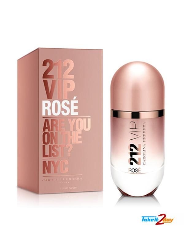 Carolina Herrera 212 VIP Rose Perfume For Women 30 ML EDP. Click Image for  Gallery c374089688