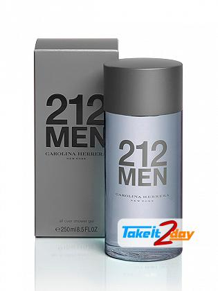 Carolina Herrera 212 Men Shower Gel For Men 250 ML