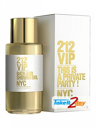 Carolina Herrera 212 VIP Bath And Shower Gel For Women 200 ML
