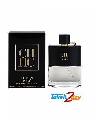 Carolina Herrera CH Prive Men Perfume For Men 100 ML EDT