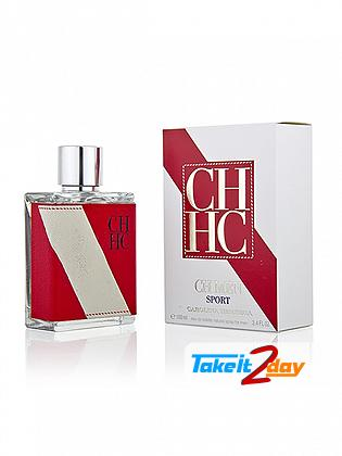 Carolina Herrera CH Men Sport Perfume For Men 100 ML EDT