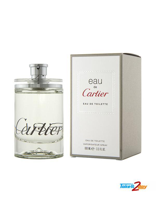 Cartier Eau De Cartier Perfume For Man 100 Ml Edt