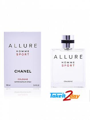 Chanel Allure Homme Sport Perfume For Man 100 ML EDC