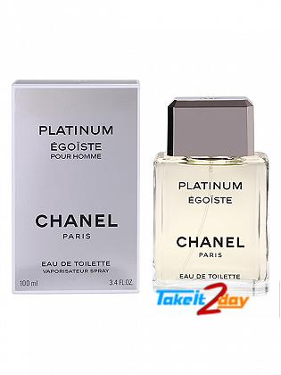 Chanel Platinum Egoiste Perfume For Man 100 ML EDT