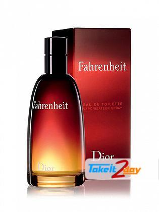 Christian Dior Fahrenheit Perfume For Man 100 ML EDT