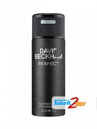 David Beckham Respect Perfume Deodorant Spray For Men 150 ML