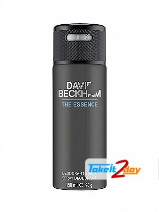 David Beckham The Essence Perfume Deodorant Spray For Men 150 ML