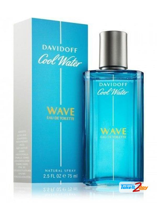 Davidoff Cool Water Wave Perfume For Men 75 Ml Edt