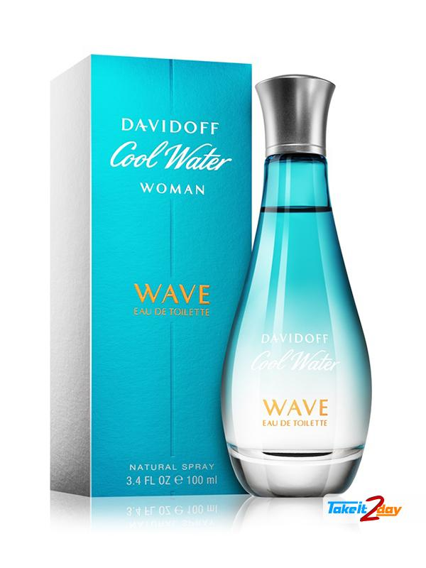 Davidoff Cool Water Wave Perfume For Women 100 Ml Edt