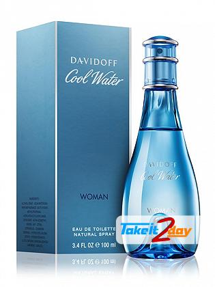Davidoff Cool Waters Perfume For Women 100 ML EDT