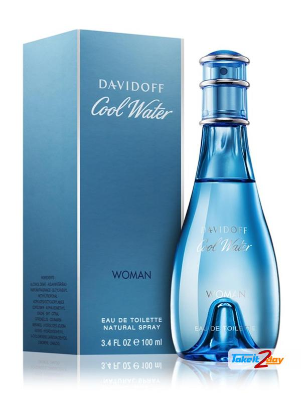 638b0d8f456 Davidoff Cool Waters Perfume For Women 100 ML EDT. Click Image for Gallery