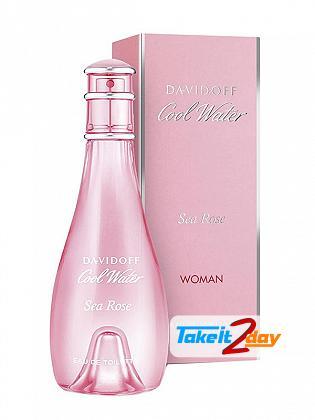 Davidoff Cool Waters Sea Rose Perfume For Women 100 ML EDT
