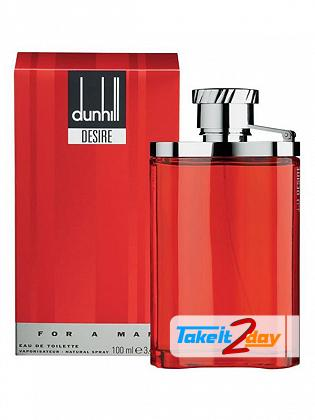 Alfred Dunhill Desire Perfume For Men 100 ML EDT