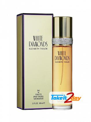 Elizabeth Taylor White Diamonds Perfume For Women 100 ML EDT