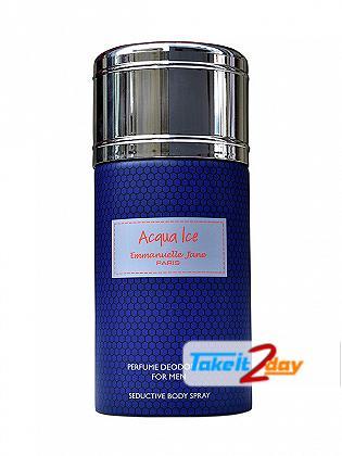 Emmanuelle Jane Acqua Ice Deodorant Body Spray For Men 250 ML