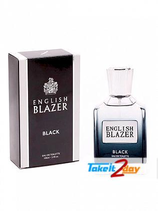 English Blazer Black For Men 100 ML EDT
