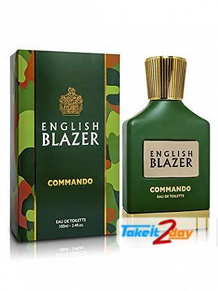 English Blazer Commando For Men 100 ML EDT