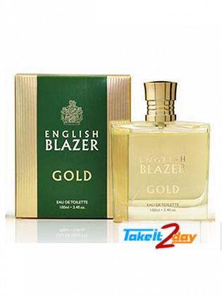 English Blazer Gold For Men 100 ML EDT