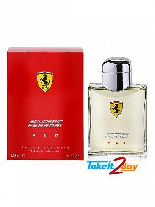 Ferrari Scuderia Red Perfume For Man 125 ML EDT