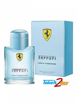Ferrari Scuderia Light Essence Perfume For Man 75 ML EDT