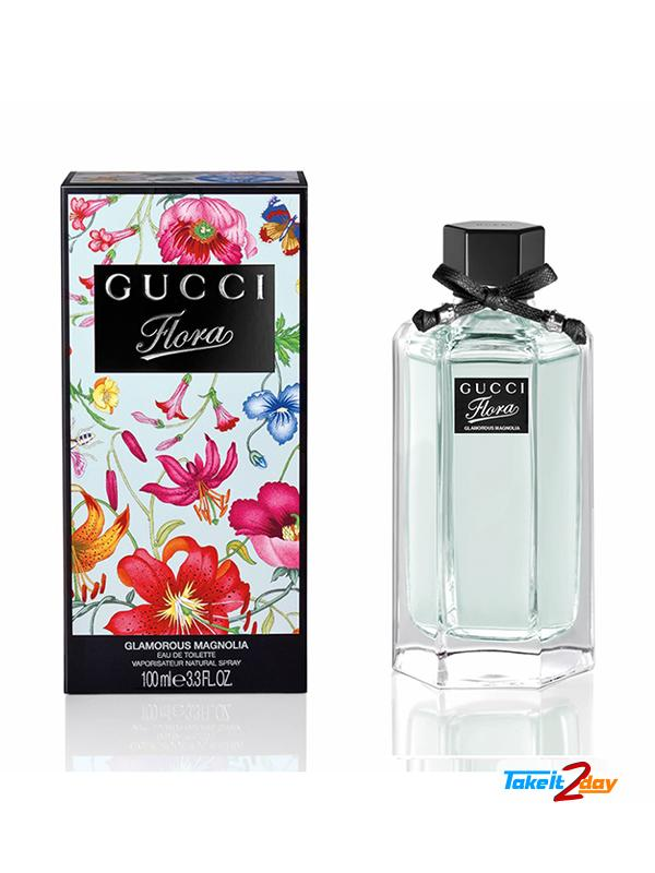 0a685809baa Gucci Flora Glamorous Magnolia Perfume For Women 100 ML EDT. Click Image  for Gallery