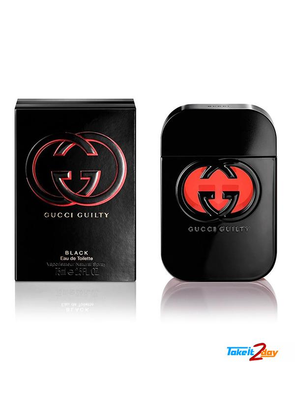 d12cc01246 Gucci Guilty Black Perfume For Woman 75 ML EDT. Click Image for Gallery