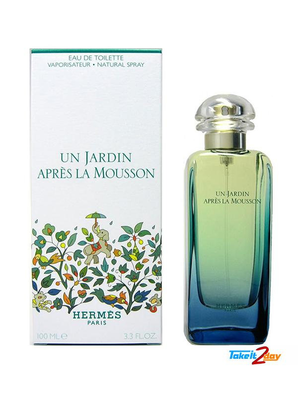 6c1aab37265 Hermes Un Jardin Apres La Mousson Perfume For Men And Women 100 ML EDT.  Click Image for Gallery