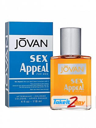 Jovan Sex Appeal Perfume For Man 118 ML After Shave