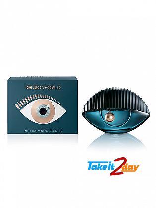 Kenzo World Intense Perfume For Woman 50 ML EDP