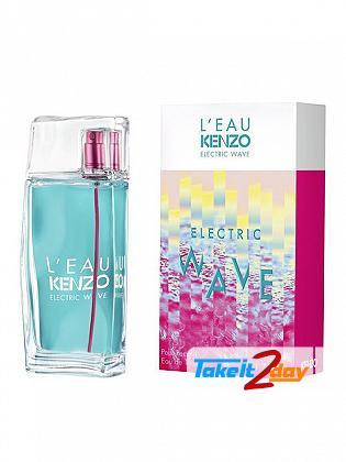 Kenzo L Eau Electric Wave Perfume For Woman 50 ML EDP