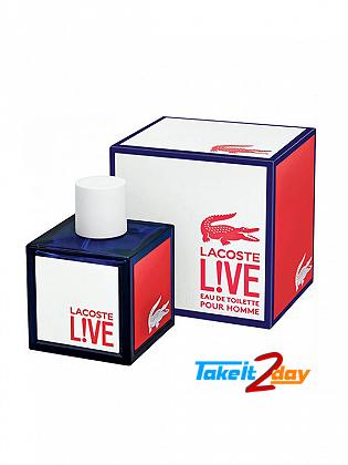 Lacoste Live Perfume For Men 100 ML EDT