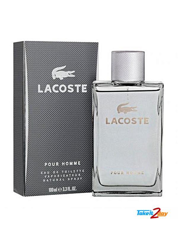pretty nice 2b9da 05bb2 Lacoste Pour Homme Perfume For Men 100 ML EDT