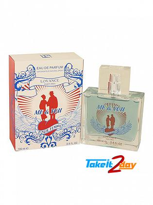 Lovance Me & You Perfume For Women 100 ML EDP