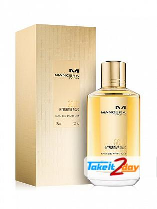 Mancera Gold Intensitive Aoud Perfume For Man And Women 120 ML EDP