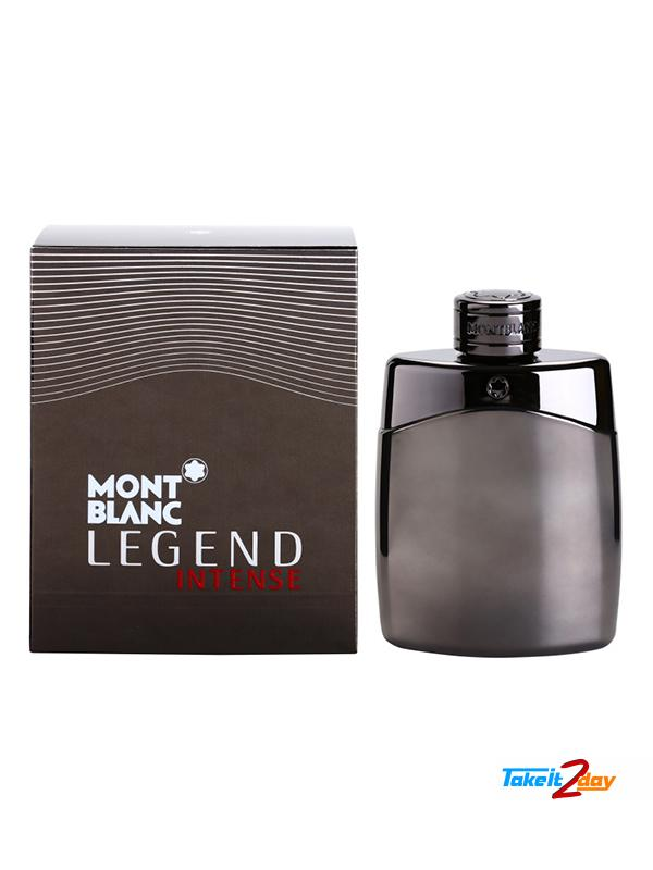 Mont Blanc Legend Intense Perfume For Men 50 Ml Edt