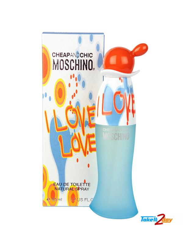 16803f5e81872 Moschino Cheap And Chic I Love Love Perfume For Women 50 ML EDT. Click  Image for Gallery
