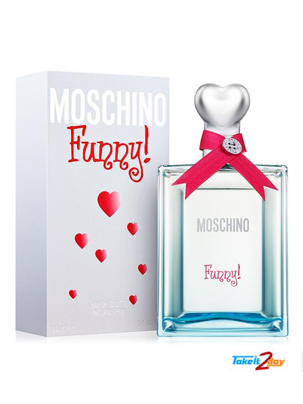 Moschino Funny Perfume For Women 100 Ml Edt
