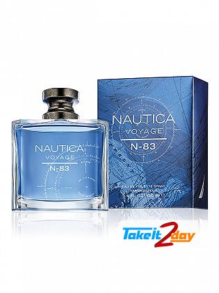 Nautica Voyage N 83 Perfume For Men 100 ML EDT