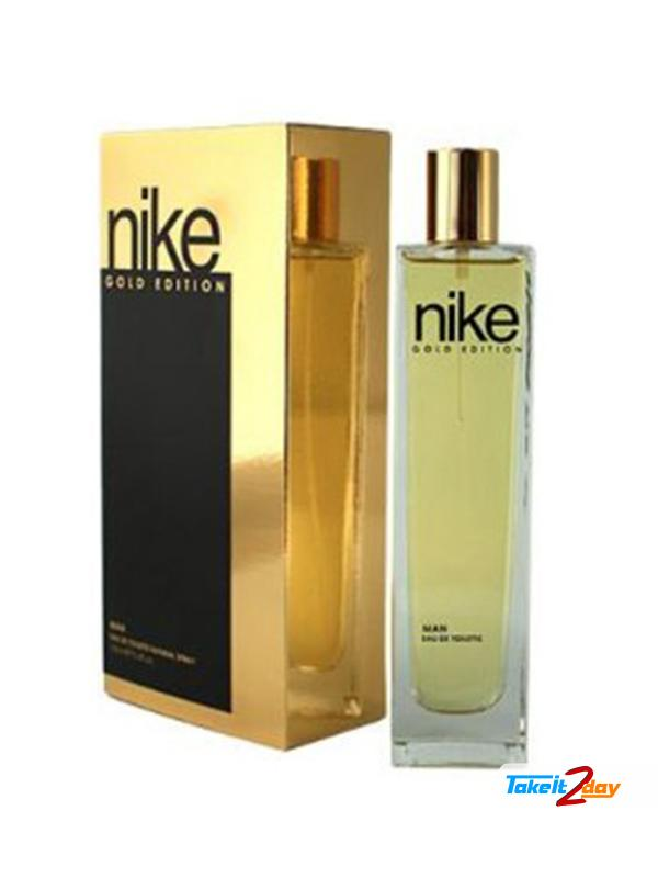 Nike Gold Edition Perfume For Man 100 ML EDT. Click Image for Gallery e68abb1b8cd7