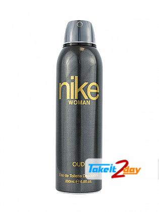 Nike Women Oud Deodorant Body Spray For Women 200 ML
