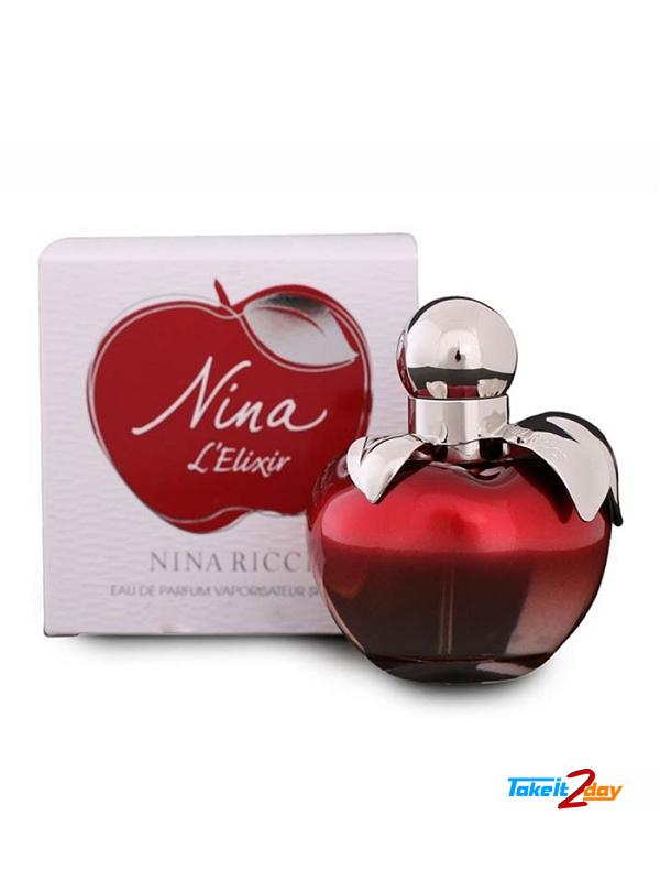 71778df07 Nina Ricci Nina L Elixir Perfume For Women 80 ML EDP