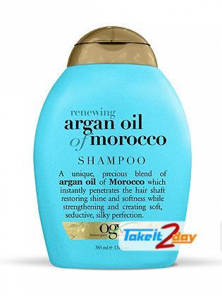 Ogx Argan Oil Of Morocco Shampoo For Men And Women 385 ML
