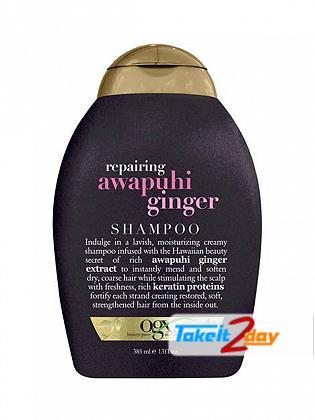 Ogx Awapuhi Ginger Shampoo For Men And Women 385 ML