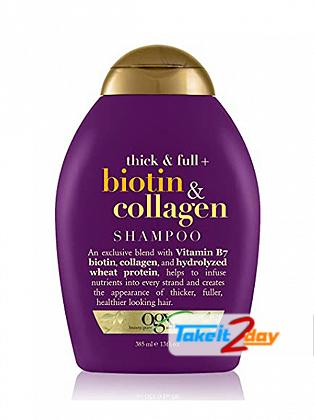 Ogx Biotin & Collagen Shampoo For Men And Women 385 ML
